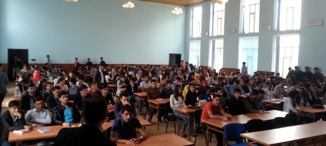 (Azərbaycan) Lənkəran Dövlət Universitetində Seminar, 06.05.2016